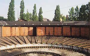 Locomotive depot